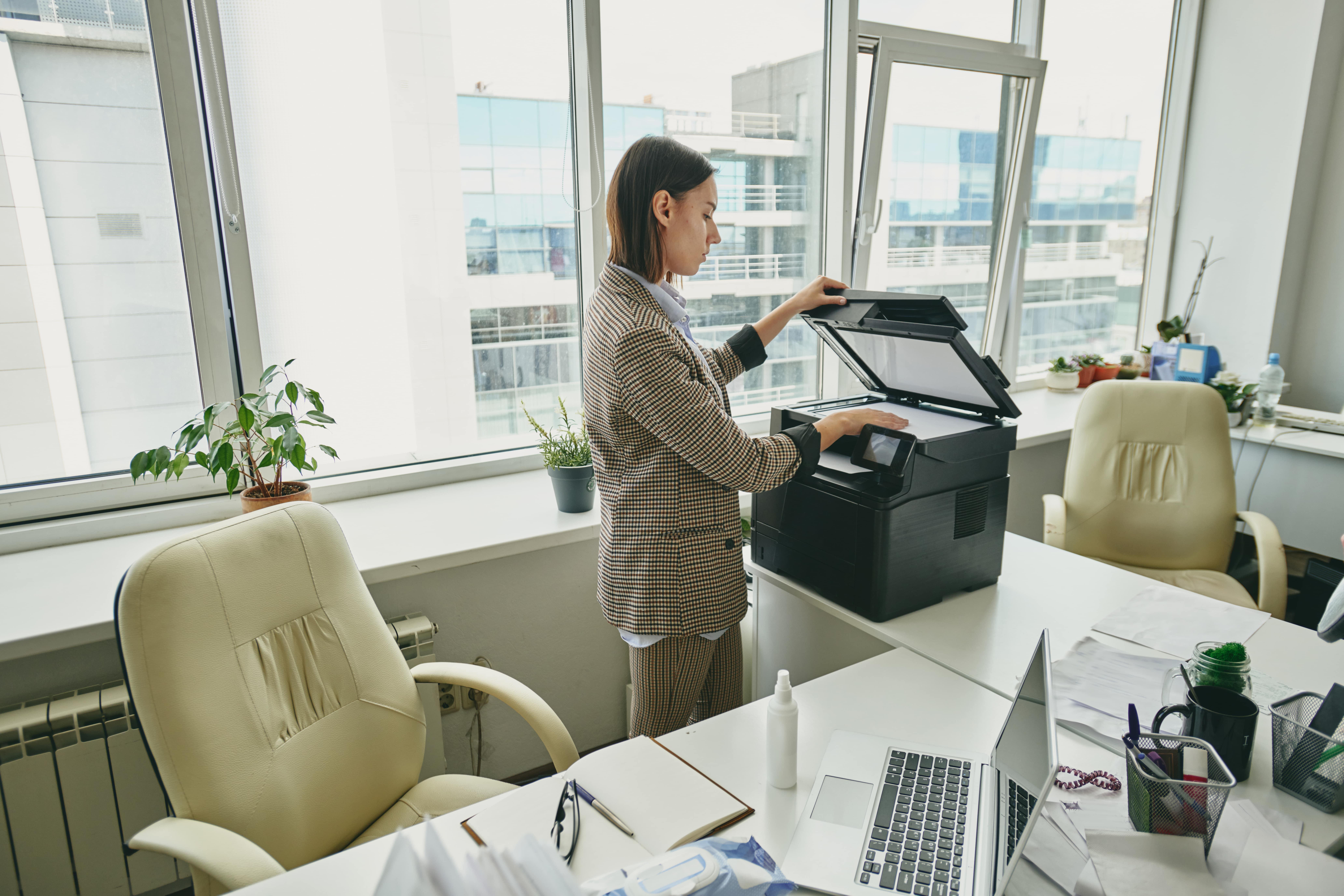 Noleggiare una fotocopiatrice per l'ufficio